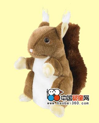 贝乐多松鼠手偶,孕婴产品库,中国婴童网