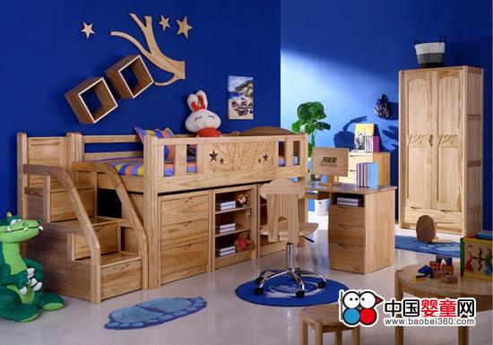 月亮船专业青少年儿童松木家具