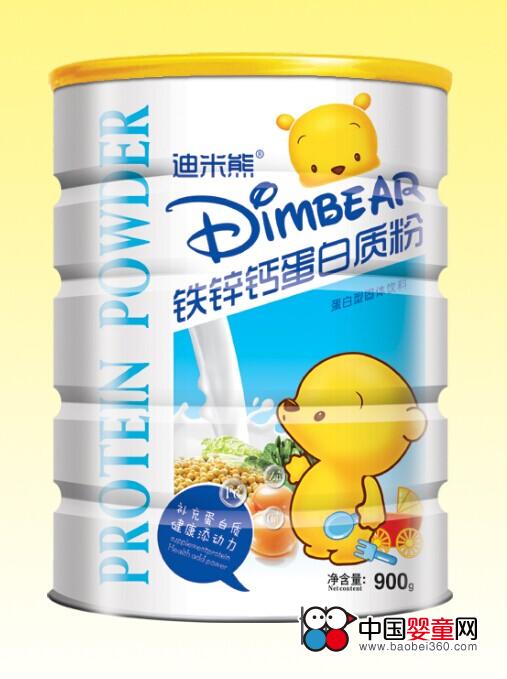 迪米熊钙铁锌蛋白质粉