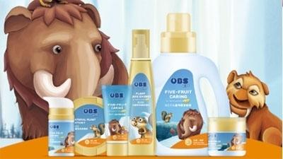 欧贝氏儿童护肤洗护用品