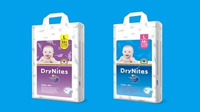 DryNites洁纳斯纸尿裤