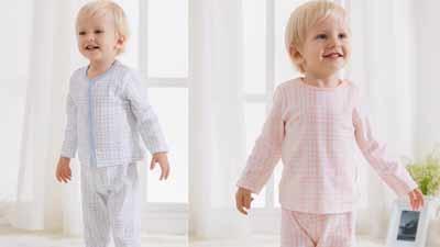 奥多米自然线条系列婴童内衣