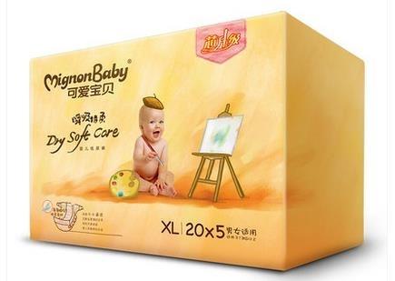 中国婴童网 孕婴童产品库 > 可爱宝贝纸尿裤xl100片