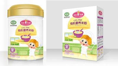 麦拉小厨有机营养米粉