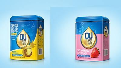欧优佳儿复合营养素固体饮料系列