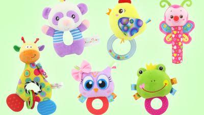 景宝玩具丨摇铃牙胶系列