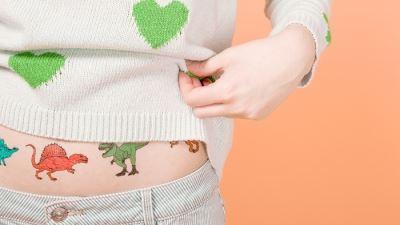 Tattoofab儿童潮流纹身贴纸