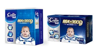茵茵航天360D婴儿纸尿裤