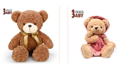 抱抱宝贝泰迪熊系列