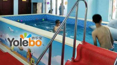 游乐宝钢结构亲子戏水池 组装模块儿童游泳池系列