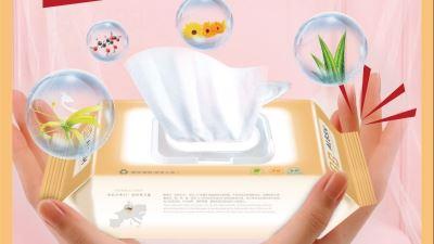 爱兰贝诗泉芯柔呵湿巾(阿尔卑斯水川净泉水+木糖醇)