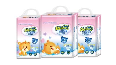 小熊优恩大环腰超薄婴儿纸尿裤系列