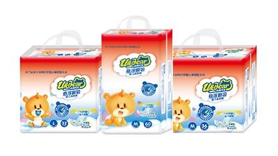 小熊优恩悬浮瞬吸婴儿纸尿裤系列