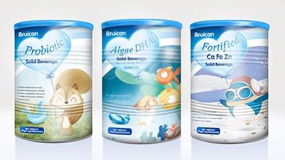 倍瑞可Bruican婴幼儿营养品系列