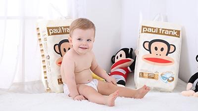 paulfrank大嘴猴铂金系列纸尿裤