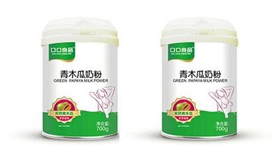 口口良品益生菌青木瓜奶粉系列