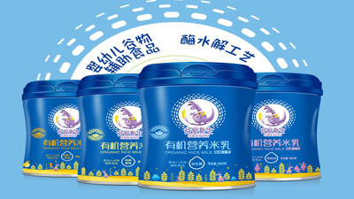 谷爱新生有机营养米乳(罐装)