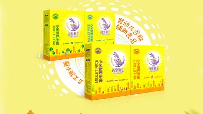 谷爱新生小米营养米粉(盒装)