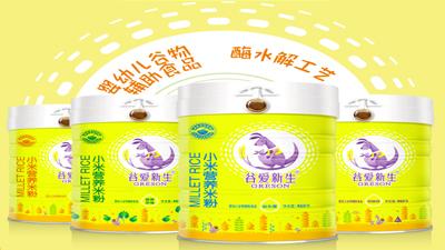 谷爱新生小米营养米粉(罐装)