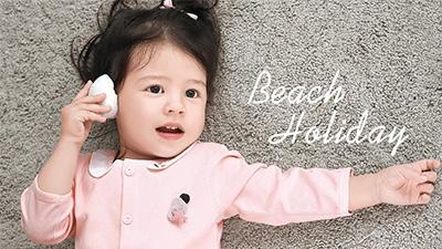 小小手 婴童女裙装外出服系列